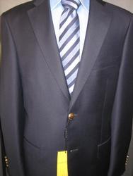 Super Fine Quality 2Button Style Navy Blazer By Galante