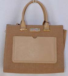 Stylish Beige Color Bag By Designer Nikky