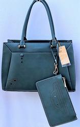 Unique Olive Color Bag By David Tanner