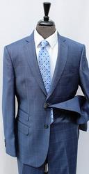 Sylish Windopane Slim Fit Suit, By Galante