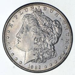 1889-S Morgan Silver Dollar - Choice
