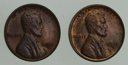 Lot (2) 1931-S Lincoln Wheat Cents
