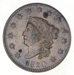1820 Matron Head Large Cent - Large Date
