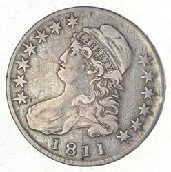1811 Capped Bust Half Dollar - O-103a