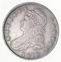 1818 Capped Bust Half Dollar - 109a