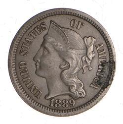 1889 Nickel Three-Cent Piece
