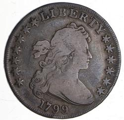 1799 Draped Bust Dollar