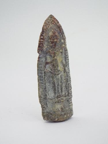 Antique Cambodian Buddha Amulet Protection and Good Luc