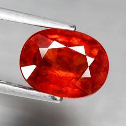 High luster 2.72ct red orange Spessartite Garnet