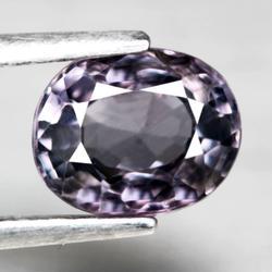 Ravishing VS clarity 1.14ct silver violet Spinel