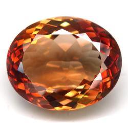 High gem grade 14ct Ouro Preto Imperial Topaz