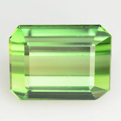 Pristine VVS 4.07ct top green Tourmaline