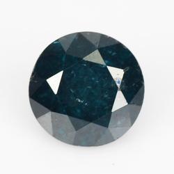 Incredible .43ct rare royal blue Diamond solitaire