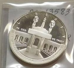 1984-S US Olympic Silver Dollar PROOF