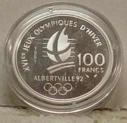 1992 PROOF  France 100 Francs Olympics