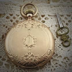 Antique 18K Keywind Pocketwatch