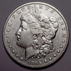 1895 O Morgan Silver Dollar From a Complete Set Without The 1895