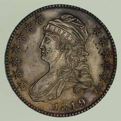 1819 Capped Bust Half Dollar - Circulated