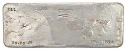 999.5 Fine Silver 99.25 Oz Silver Bar - The Bunker Hill Company