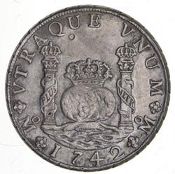 1742 Spanish Colonies Silver 8 Reales