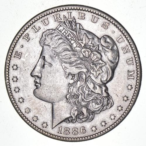 1886-O Morgan Silver Dollar