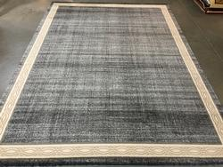 Allover Solid  Pattern Area Rug 6X8
