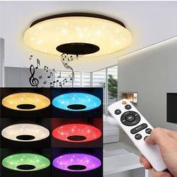 Modern LED Ceiling Light Bluetooth Music Speaker
