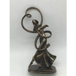 Ballerina Dancer Cold Cast Bronze Sculpture