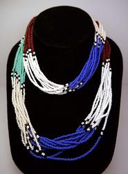 Gorgeous Navajo Crafted Beaded Long Necklace