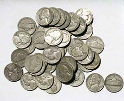 48 Silver WW11 War Nickels