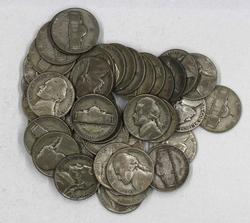 40 Silver WW11 War Nickels