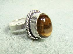 Amazing Color Natural Stone Ethnic Handcrafted Ring