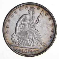 1874 Seated Liberty Half Dollar - Near Uncirculated