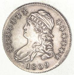 1809 Capped Bust Half Dollar - III