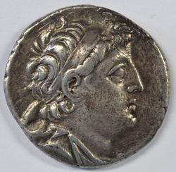 Great Seleukid Kingdom Silver Tetradrachm, 129-125 BC