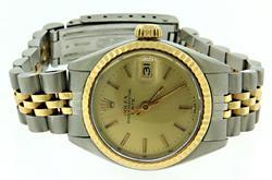 Rolex 2 Tone Date 26mm Watch