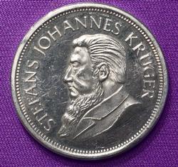 1oz KrugerRand Copy Fine Silver