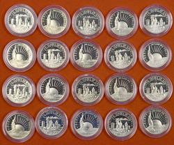 20 x 1986 50c Proof Liberty Commems