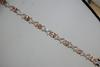 14kt Rose Gold Morganite & Diamond Bracelet