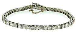 Must Have! Platinum Diamond Tennis Bracleet