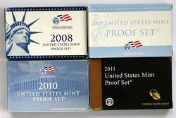2008-2011 US Proof Sets