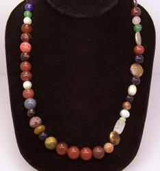 19in Multi-Bead Necklace