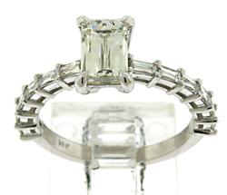 Romantic 18kt Tycoon Cut Diamond Ring