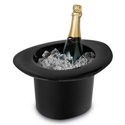 1.2L Acrylic Top Hat Cap Shaped Ice Bucket Wine Bottle