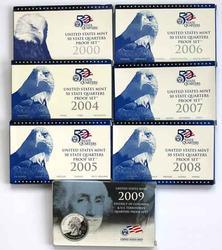2000  2004-2009  State Quarter Proof Sets