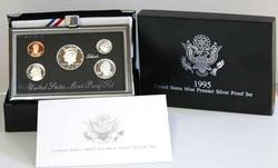 Tougher 1995 Premier Silver Proof Set