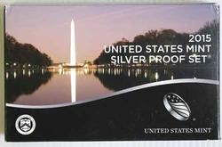 2015 US Silver Proof Set