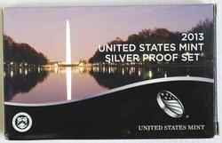 2013 US Silver Proof Set