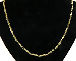 Classic Nugget Link Chain Necklace