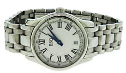 ESQ Filmore Stainless Steel Roman Dial Watch